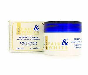 Fade Cream Purifying Purity Unifying Effect 200ml
