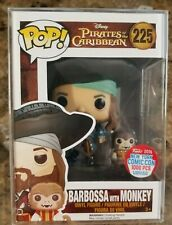Funko Pop! Barbossa with Monkey #225 NYCC 2016 LTD 1000PCS