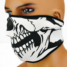 Winter Skull Bike Motorcycle Ski Protective Half face mask Cool New