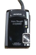 Olympus Stylus Tough 6020 14.0 MP Waterproof Digital Camera - Black. With Bag.