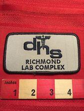 DHS RICHMOND LAB COMPLEX Medical Patch ~ California ? Virginia ? 66WB
