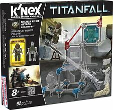 K'nex Titanfall - MCOR Pilot Attack Building Set 93 PC