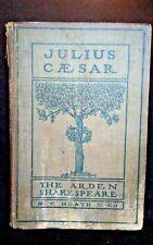 Antique, Julius Caesar, The Arden Shakespeare, 1905, D.C. Heath & Co - Pre-owned
