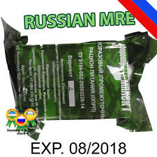 Russian Army Pack Military Food, Ration Daily Pack Mre Rations Meal Combat 700 g