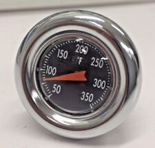 Chrome Oil Tank Dipstick Temperature Gauge Harley Softail 84-99 Sportster 82-03