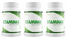 3 Bottles STAMINAX Stop Premature Ejaculation Sexual Performance