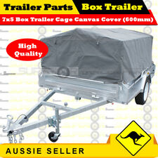 Superior 7X5 TRAILER CAGE CANVAS COVER (600mm)