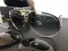 PORSCHE DESIGN by CARRERA Vntg Sunglasses Mod.5621/77(silver/gold) NOS!FULL SET!