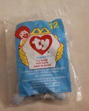 Peanut Elephant Beanie Baby 1998 McDonalds Happy Meal Toy 12 Teenie Beanie New