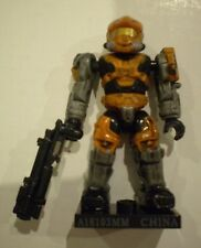MEGA BLOKS Halo 96978 Series 8 Orange *UNSC SPARTAN HAZOP* with Grenade Launcher