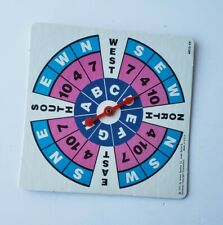 Bermuda Triangle Board Game 1975 Edition Replacement Parts Piece - Spinner