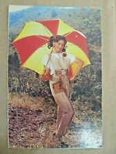 MADHURI DIXIT Bollywood Actor Rare Old Post card Picture Postcard India OLD