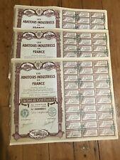 20 x DECO => ABBATOIRS INDUSTRIELS DE FRANCE for 1€ ?