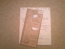 MATCHLESS G11 600cc 1958 cimeli LETTERATURA registro CLASSIC BIKE