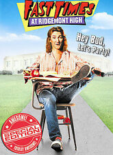 Fast Times at Ridgemont High (Widescreen Special Edition), New DVD, Sean Penn, J