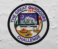 The Great Indoors Challenge Badge / Patch Scouts Girl Guides Camp Blanket