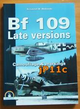 Bf 109 Late versions. Camouflage & markings - MMP  (White Series)  RARE!!