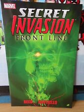SECRET INVASION: FRONT LINE (First Printing 2009)  TPB
