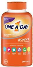 One A Day Women's Multivitamin, 300 Tablets, Exp. 04/22