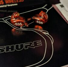 Shure SE535LTD Special Edition Sound-Isolating Earphones w/ 3.5mm Cable (Red)