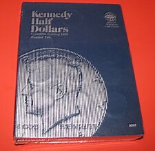Kennedy Half Dollar Number 2 Whitman Folders 9698  NOS  Package of 6