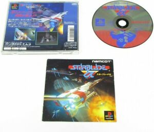 Video Game PS1 Star α alpha NAMCO Sony Playstation From Japan