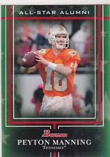 Peyton Manning #16 Tennessee Volunteers NCAA COLLEGE FOOTBALL Bowman Insert Card
