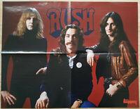 ⭐⭐⭐⭐ Iron Maiden ⭐⭐⭐⭐ Rush ⭐⭐⭐⭐ Poster 45 x 57 cm ⭐⭐⭐⭐