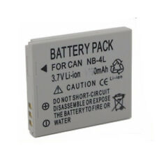AU Battery for canon NB-4L IXUS 30 40 50 55 60 65 70 75 80 IS ZOOM nb4l camera