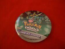 Pokemon Emerald Nintendo Game Boy Advance Promotional Button Pin Back Promo