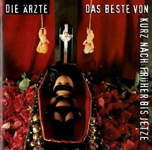 2 CDs - Die Ärzte - Das Beste Von Kurz Nach Früher /  Best Of - Zustand sehr gut