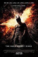 Batman The Dark Knight Rises Final Original Theater DS Movie Poster 27x40 Gotham