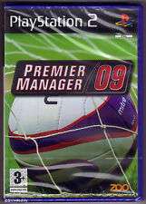 PS2 Premier Manager 09 (2008), UK Pal, Brand New & Sony Factory Sealed