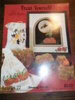 STONEY CREEK COLLECTION - Counted Cross Stitch Leaflet - TREAT YOURSELF