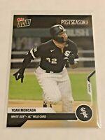 2020 Topps Now Baseball Postseason Card - Yoan Moncada - Chicago White Sox