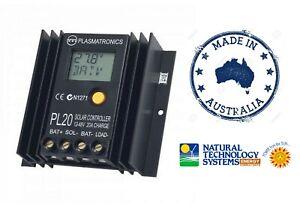 Plasmatronics PL20 Solar Panel Regulator 20 Amp 12-48V