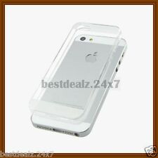 New Slim Thin 0.3mm Transparent TPU Silicon Case Cover for Apple iPhone 5 5S 5G