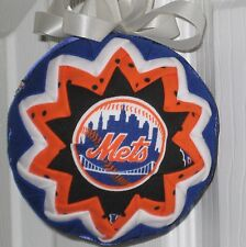 New York Mets  blue,  orange ball ornament