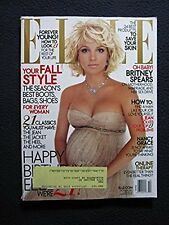 Elle Magazine - October 2005: Pregnant Britney Spears Layout!