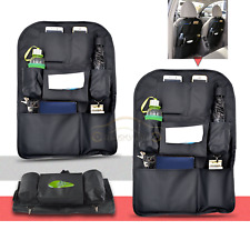 2x Car Back Seat Tidy Organiser Travel Storage Bag Pocket Pouch Holder Interior