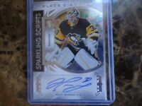 2019-20 BLACK DIAMOND AUTO MATT MURRAY PENGUINS SPARKLING SCRIPTS SC-MU