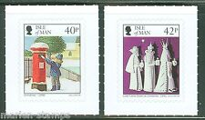 ISLE OF MAN 2013 CHRISTMAS  SET OF TWO SELF ADHESIVE STAMPS MINT NH