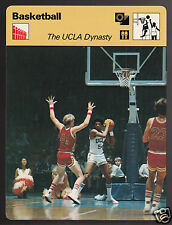 THE UCLA DYNASTY NCAA Marques Johnson Basketball 1977 SPORTSCASTER CARD 06-08