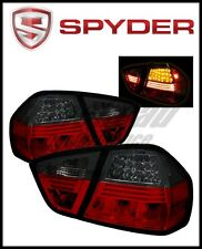 Spyder BMW E90 3-Series 06-08 4Dr LED Tail Lights Red Smoke