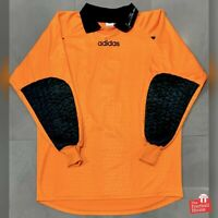 Vintage Adidas Lehmann Signature 1997 Goalkeeper Jersey - #1. Size L, Exc Cond.