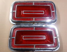 1970 Ford Galaxie LTD Custom taillight lenses pair