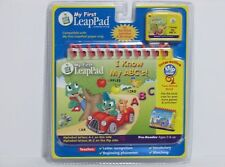 NEW NIP Leap Frog Pad My First LeapPad I KNOW MY ABC'S Book & Cartridge Sealed