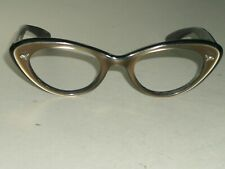 1960's LADIES 46 20 VINTAGE BAUSCH & LOMB MULTI COLOR CATS EYE FRAMES