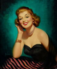 Art Frahm Pin Up Girls 17 Giclee Canvas Print Paintings Poster Reproduction