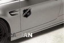daBOSS Vinyl Decal Sticker Sport car Racing Speed car emblem logo color BLACK
